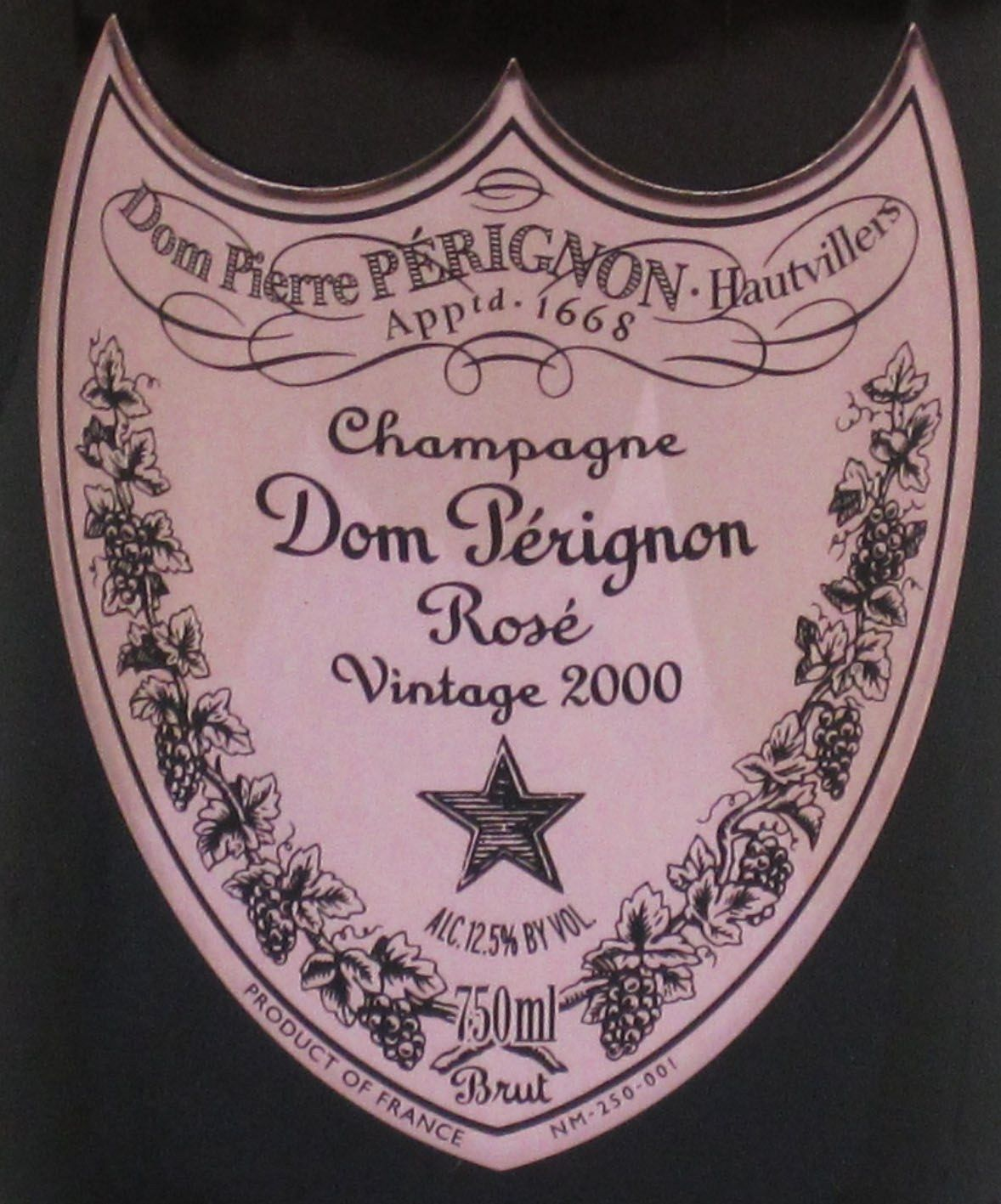 Dom Perignon Is A Symbol Of Status Produced By Mot Chandon And