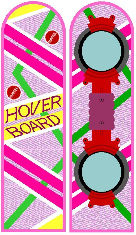 Back To The Future Hoverboard Back To The Future The