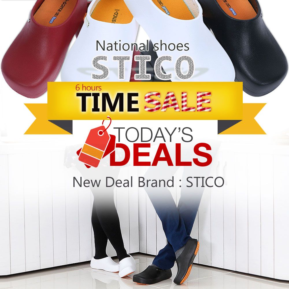 📣 Amazon Lightning Deal of STICO Chef Kitchen Shoes 📣 🔥20% Off of STICO Chef Kitchen Slip Resistant Safety Men's Shoes Clog, US Size 5 -11 Nov 19, 2017 5:35 PM PST ‐ Nov 19, 2017 11:35 PM PST 📣🔥✨🎉Don't miss this deal. Limited Quantity Available. Click the link below. 👇 https://www.nyfashioncity.com/…/amazon-lightning-deal-stico… #sticoshoes #nonslipshoes #kitchenshoes #chefshoes #nursingshoes #mensclogs #crocsmen #amazonlightningdeal #shoesSale #shoesdiscount #blackfridaysale