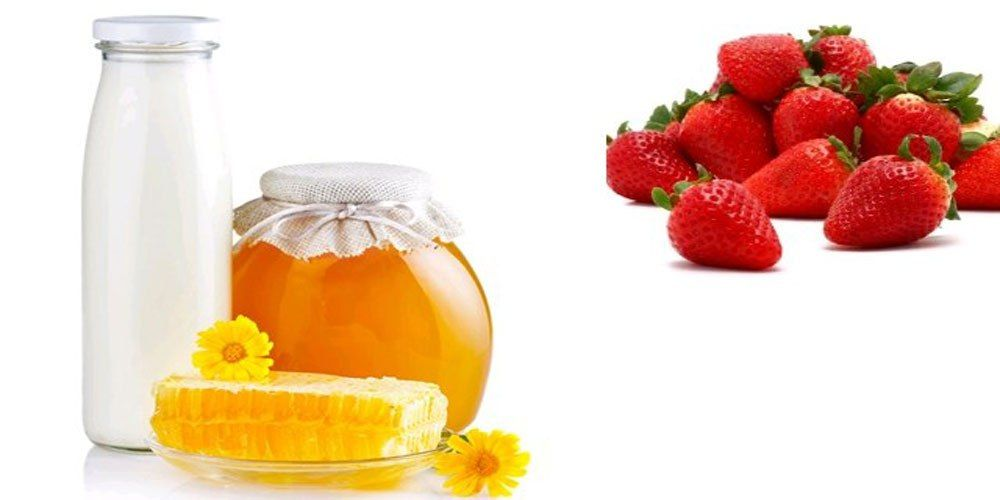 Image result for milk,honey and strawberry