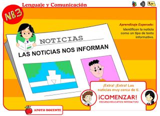 Analisis De Noticias Para Niños Aplicacion Interactiva Texto Informativo Noticia Lapicero Magico