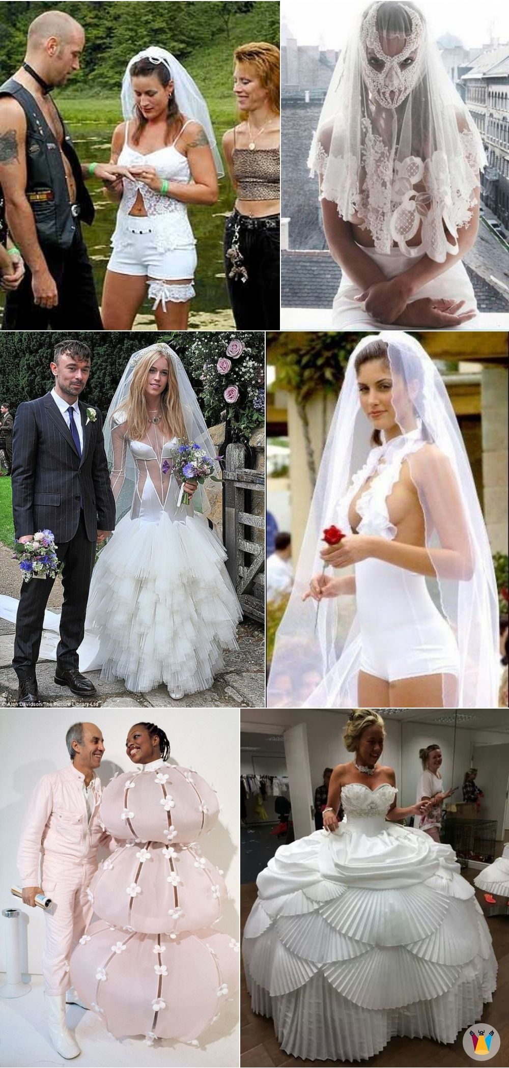 This Post Is About All The People Who Seriously Fail At Picking Out Their Wedding Dress Wedding Dre Wedding Dress Fails Funny Wedding Dresses Wedding Dresses