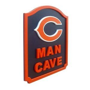 Pin By Breanna Shaw On For Bry Chicago Bears Man Cave Man Cave Signs Man Cave Gifts