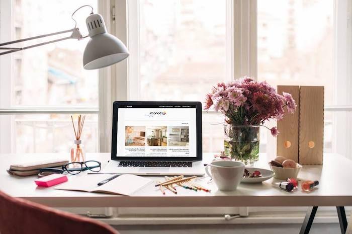 1001 id es piquer pour d corer son bureau au travail inspiration pinterest bureau. Black Bedroom Furniture Sets. Home Design Ideas