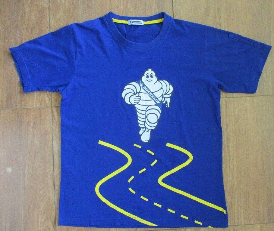 Racing Michelin Automotive T-Shirt Bibendum Michelin Man Tires