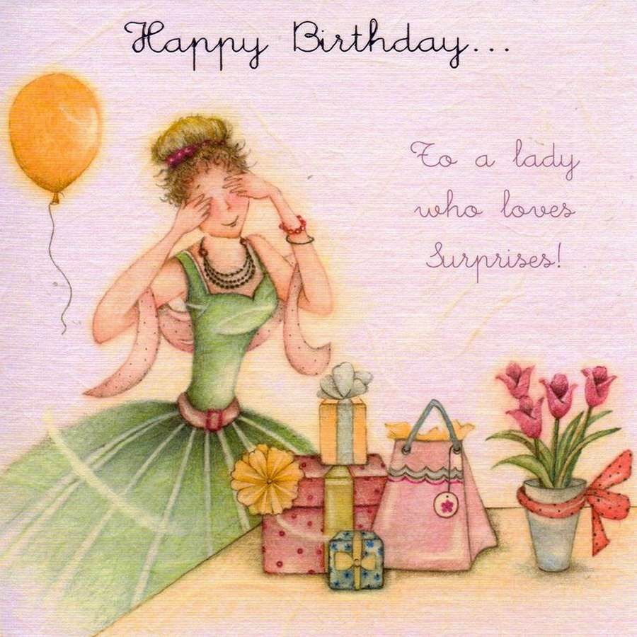 Ladies Birthday Collection Berni Parker Discussion on – Russian Birthday Greetings