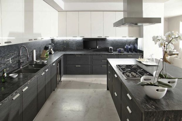 White Kitchen Grey Countertop white and grey kitchen ideas for its fanatic color: grey