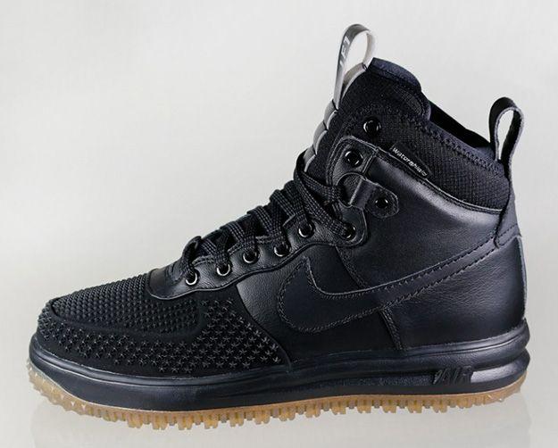 newest 67858 c9c4f Nike Lunar Force 1   Duckboot Black Gum