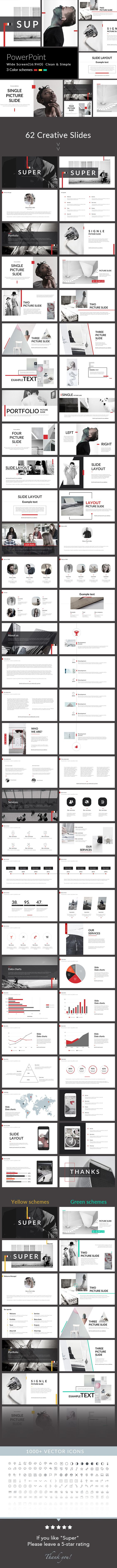 Super - PowerPoint Presentation Template. Download here: https ...