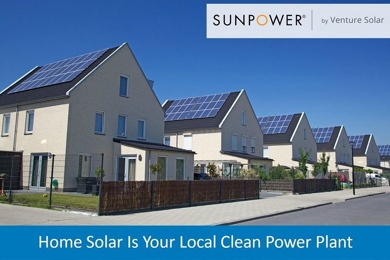 Home Solar Is Your Local Clean Power Plant | Solar Power