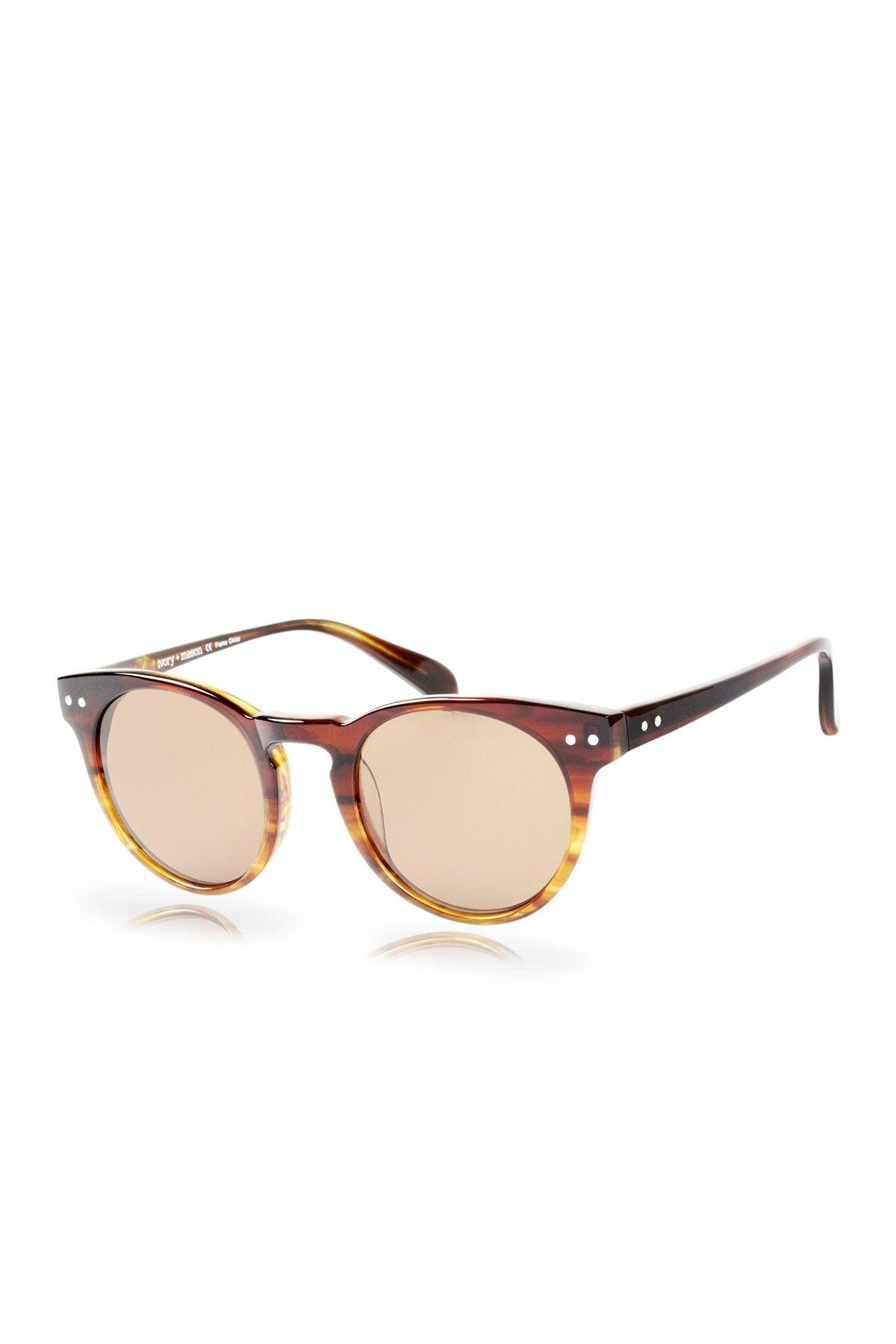 Milano Unisex Gold Tortoise Fade Plastic Acetate Sunglasses   Men ...