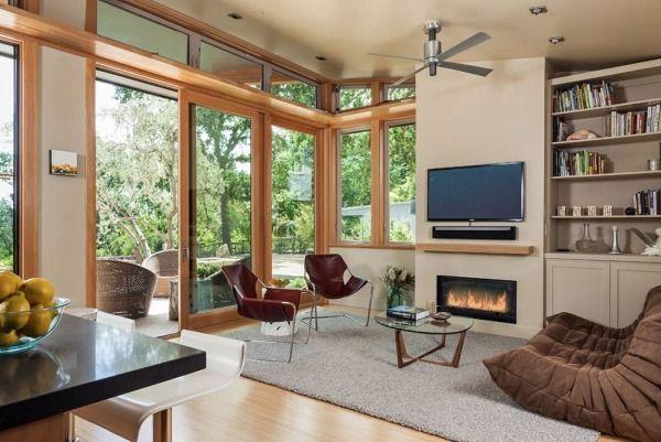 1100 Sq Ft Modern Prefab Home In Napa Ca Modern Prefab Homes Prefab Homes Stillwater Dwellings