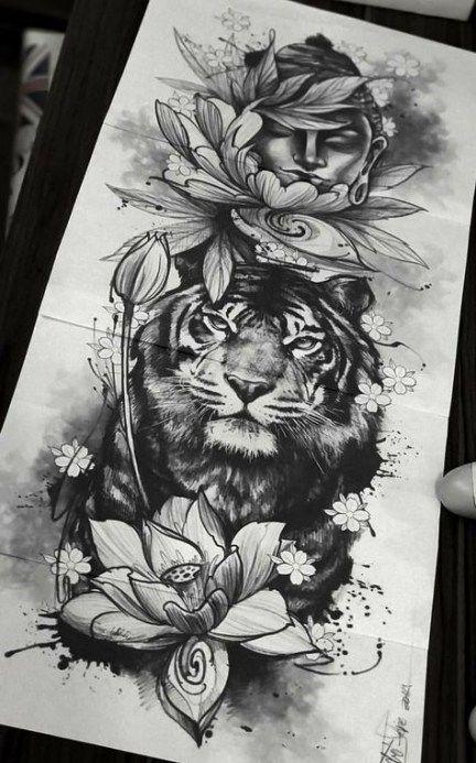 Photo of Trendy tattoo leg tiger 17 ideas