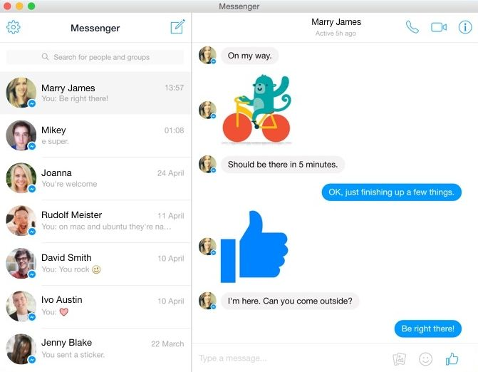 Facebook Messenger Download DMG for Mac OSX | Facebook
