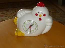 despertador de gallo años 80