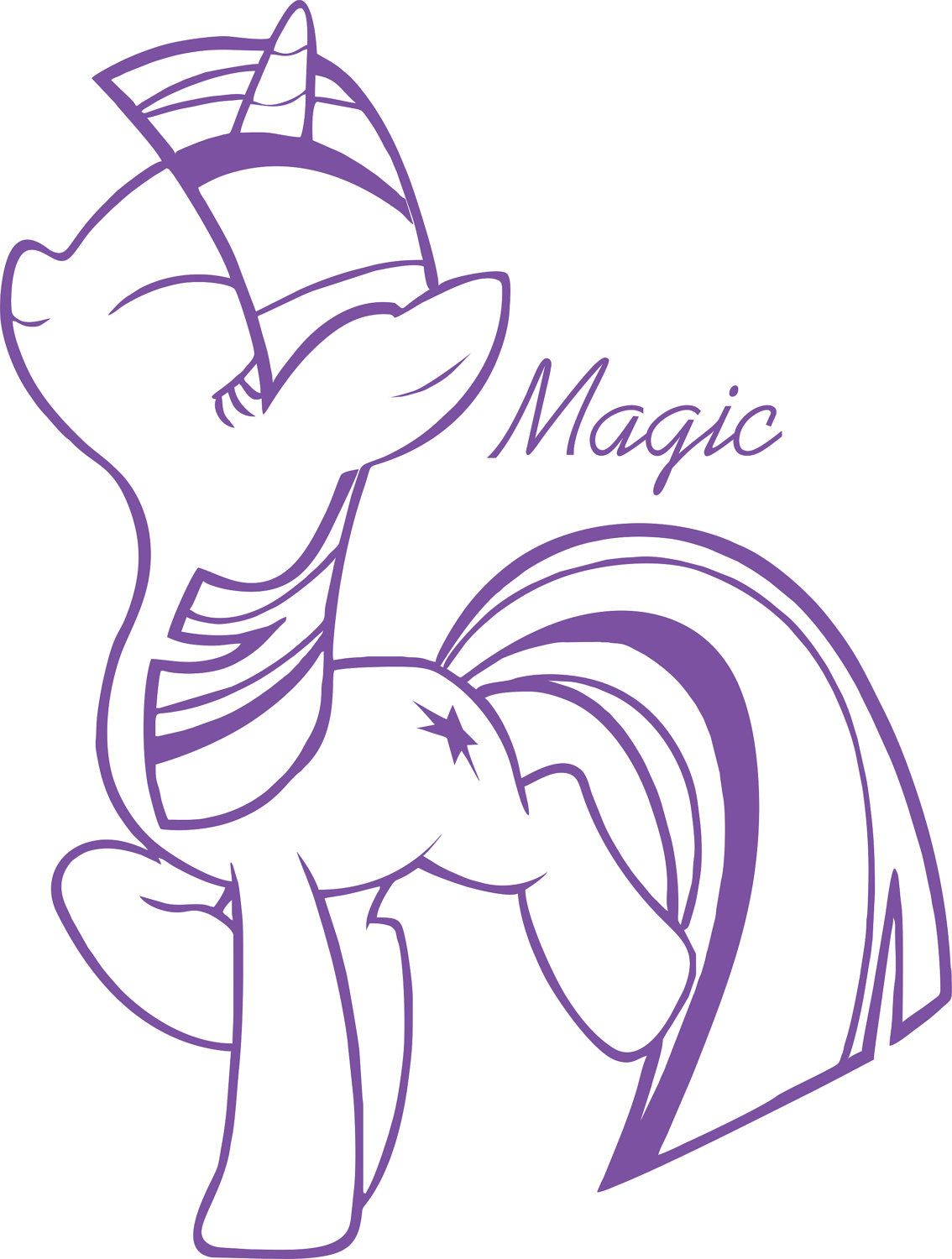This may end up on my car. (My Little Pony: FiM Twilight Sparkle ...