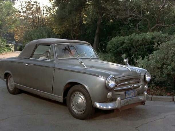 Ganz und zu Extrem Peugeot 403 Cabrio del 1955 (auto del Ten. COLOMBO) | MOVIES AND &QU_33