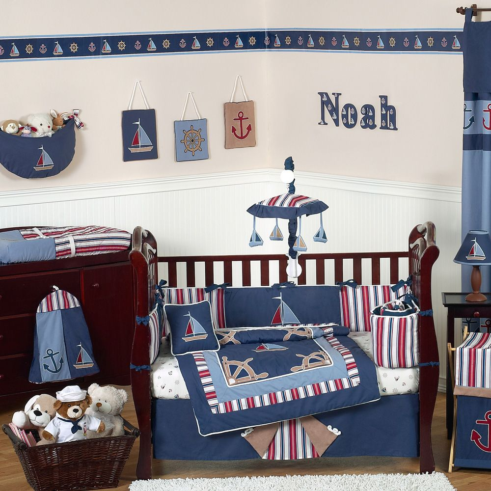 Nautical Nights Crib Bedding From Sweet Jojo Designs At ABaby. We Offer  Sweet Jojo Designs Nautical Nights Crib Bedding For Your Baby At Great  Prices.