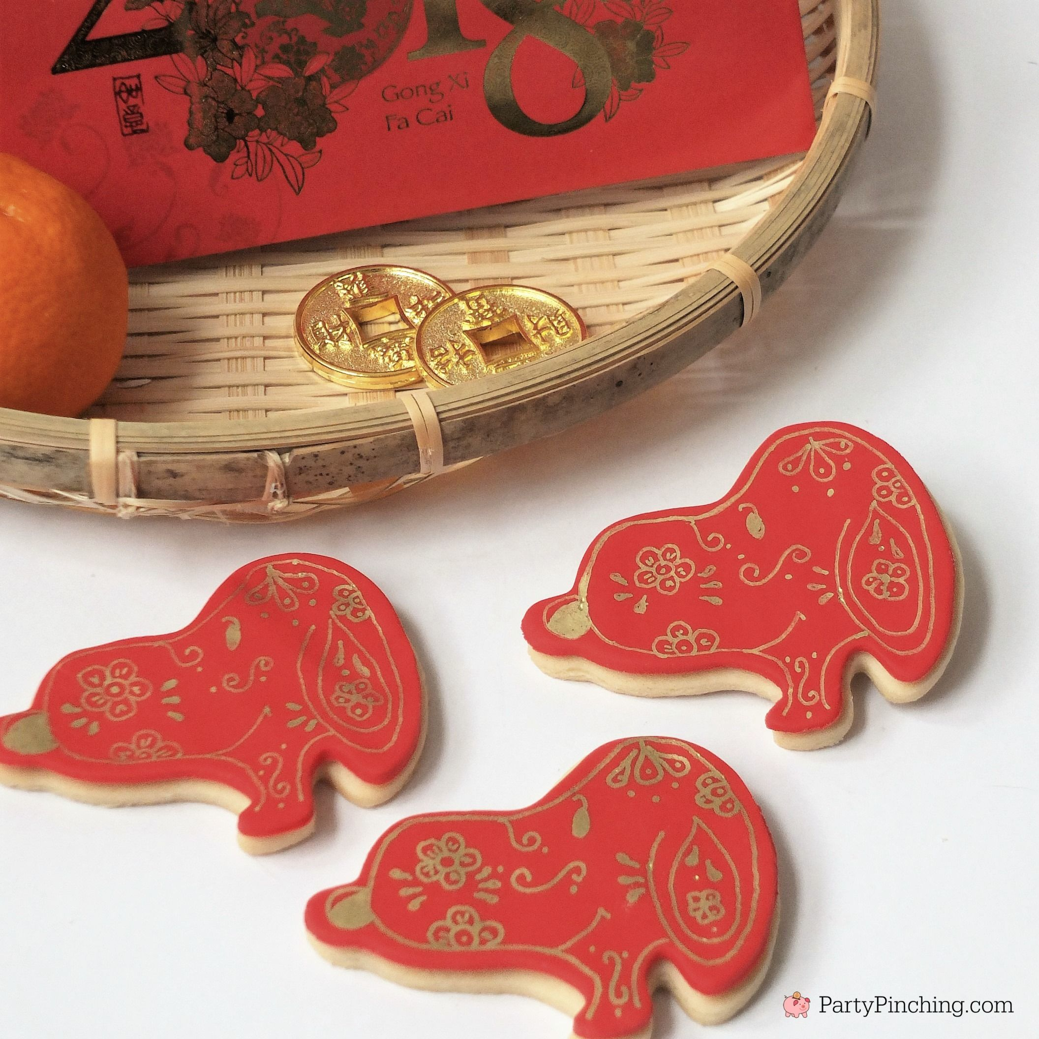 Year Of The Dog Snoopy Cookies Recipe Chinese New Year Paint