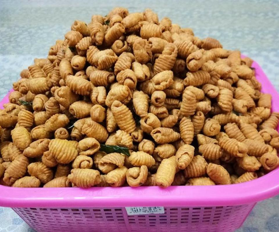 Resipi Kuih Siput Rangup Kudap Kudap Paling Mudah Cepat Nak Buat Rasa Recipes Pale Food