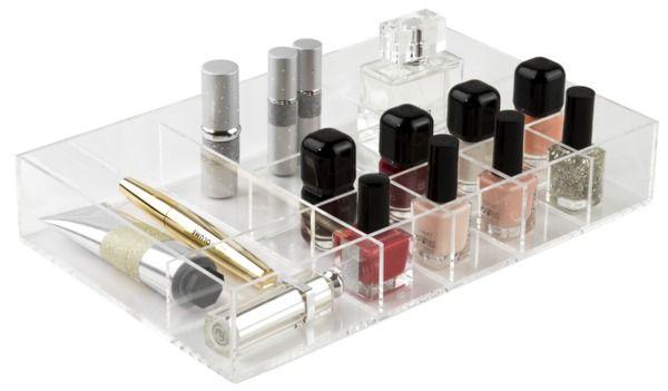Organisateur de tiroir transparent