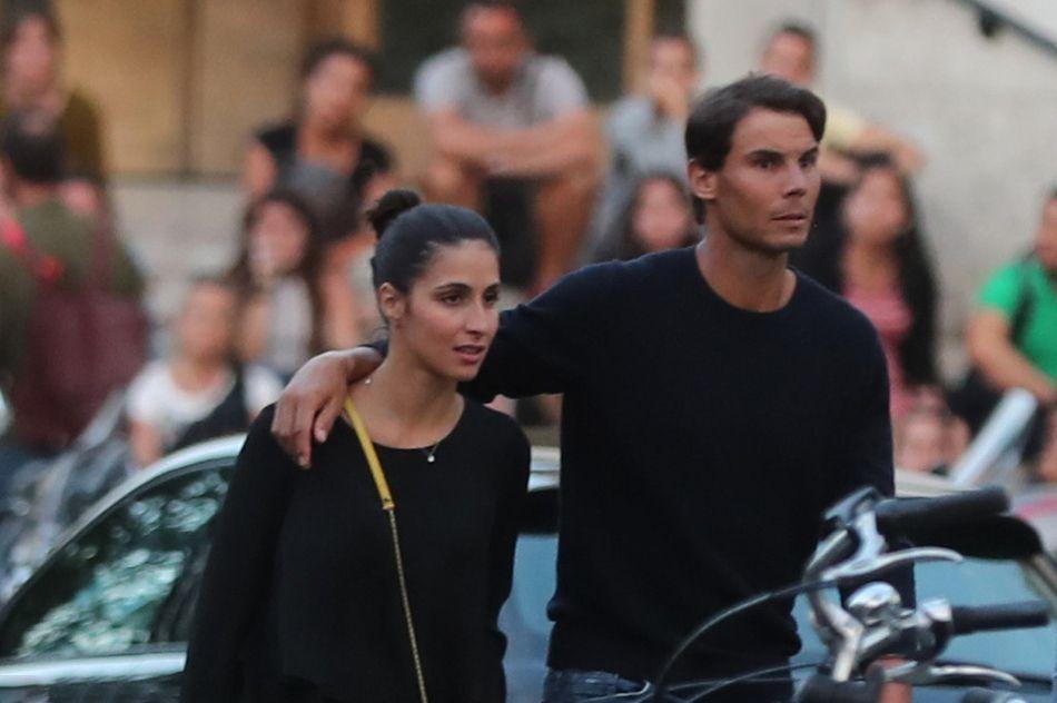 Rafael Nadal and girlfriend Maria Francisca Perello in