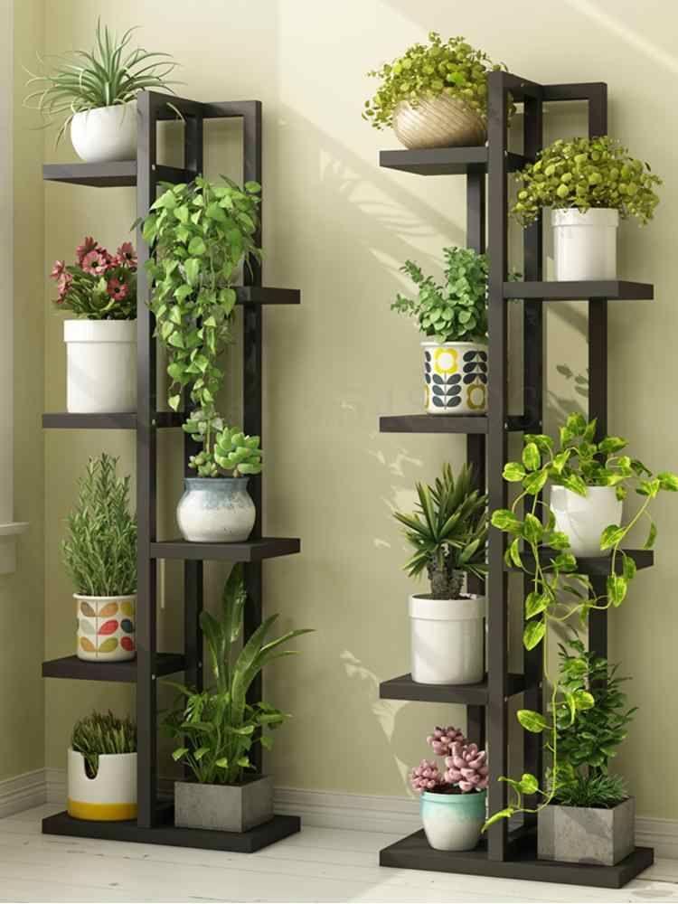 Flower Stand Multi-layer Indoor Shelf Balcony Stor
