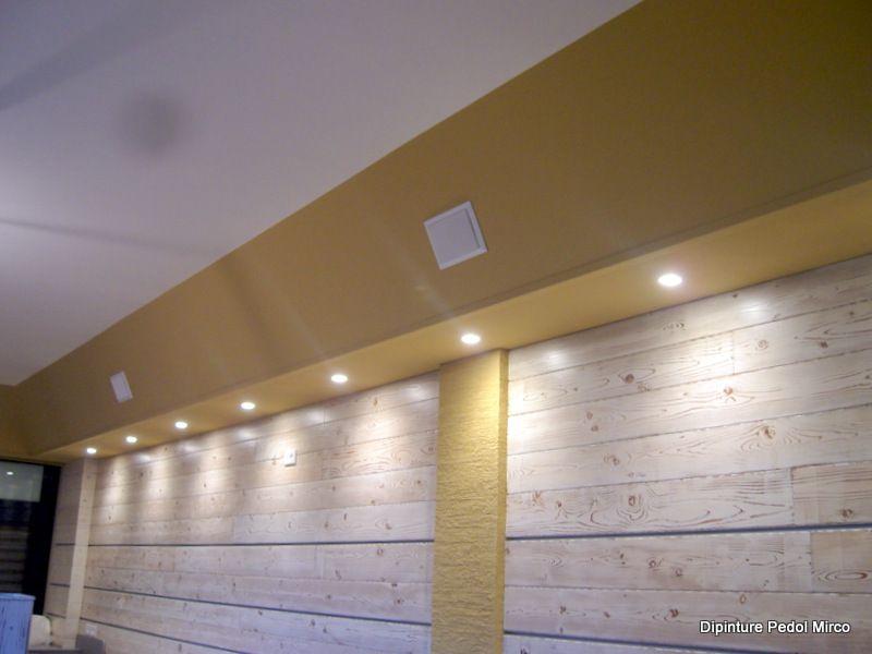 Cartongesso Knauf : Contro soffitto in cartongesso knauf dipinture pedol mirco