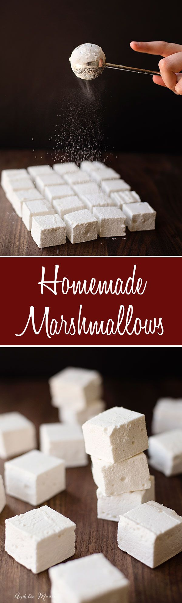 homemade marshmallows are easy to make and they taste. Black Bedroom Furniture Sets. Home Design Ideas