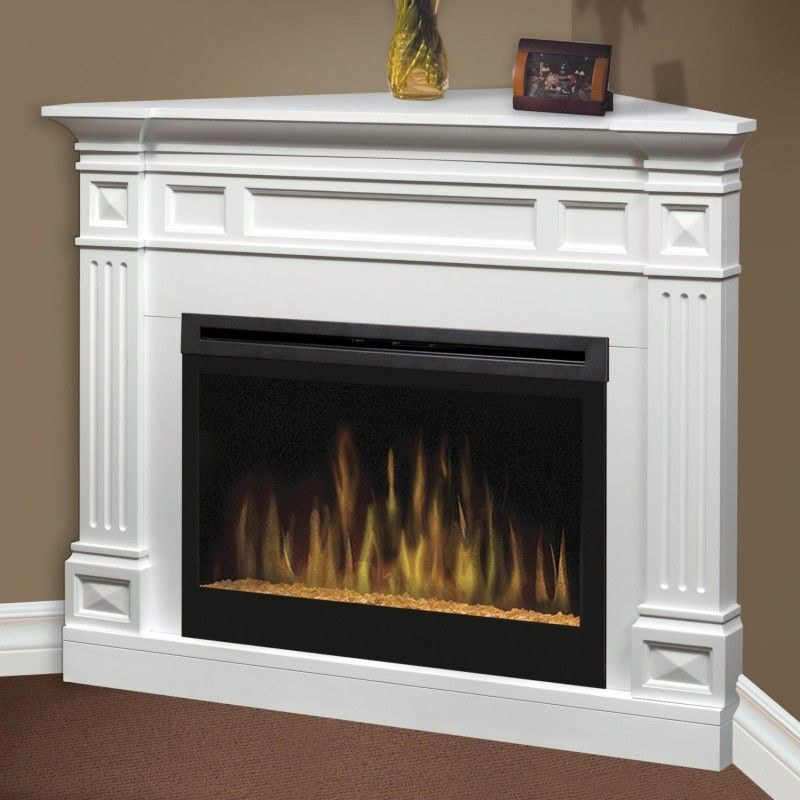 Dimplex Traditional 52-Inch Corner Electric Fireplace | Fireplace ...