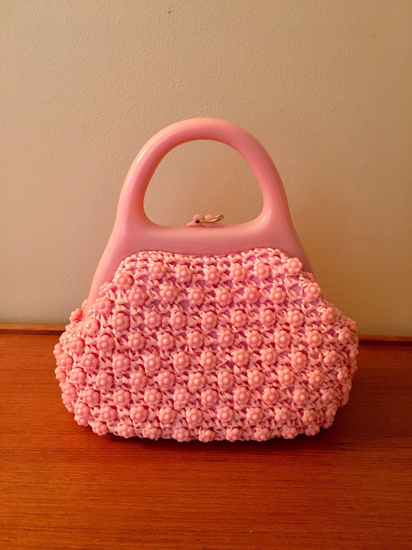 395eb219cd53 Vintage Pink Marcus Brothers Handbag