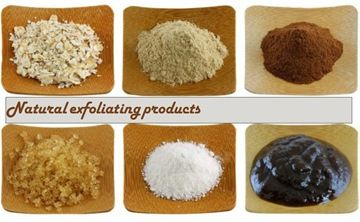 7 natural exfoliating products