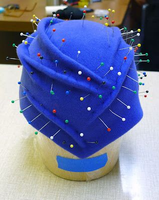 Sculpting A Hat Jasmin Zorlu Sewing Hats Millinery Hats Hat Designs