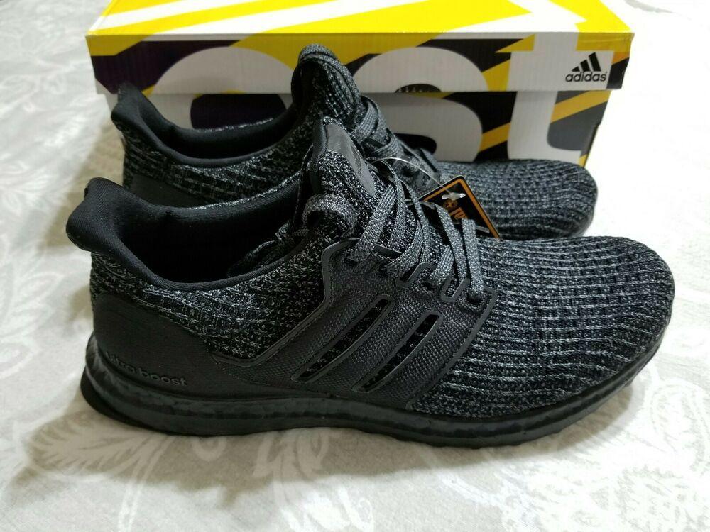 8b489be738ad5 Adidas Ultra Boost Ultraboost 4.0 Triple All Black BB6171 Size 8 ...
