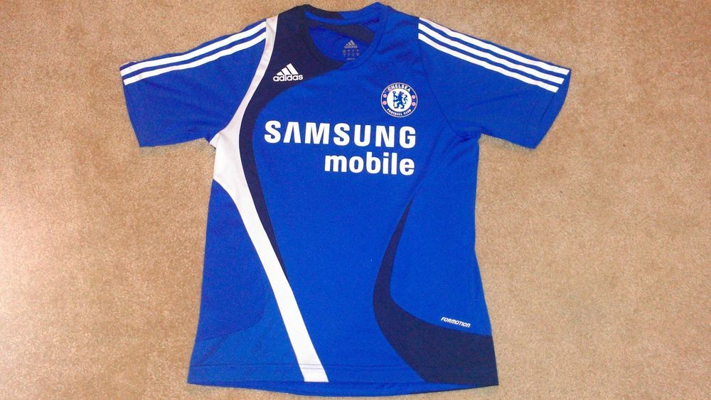low priced 1d070 c3f45 Adidas Chelsea FC Jersey Men's S Shirt Formotion Samsung ...