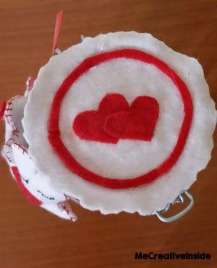 biscotti, san valentino, pannolenci