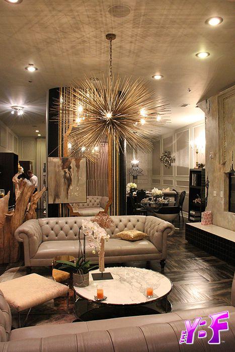old hollywood living room ideas staging furniture fabulous rooms pinterest interiors designers and of designer michel boyd smith dark wood floors beige gold sputnik chandelier glamorous style