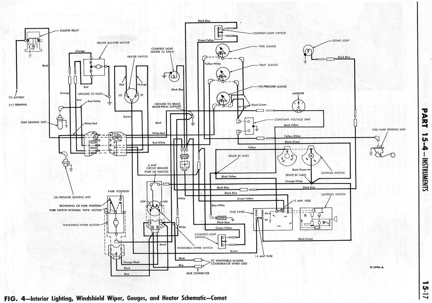 1964 Ranchero Wiring Diagrams, 1964 ranchero wiring diagrams rowand wiring  diagrams. wiring diagrams andscriptions of the various circuits seem to be  a rare thi… di 2020Pinterest