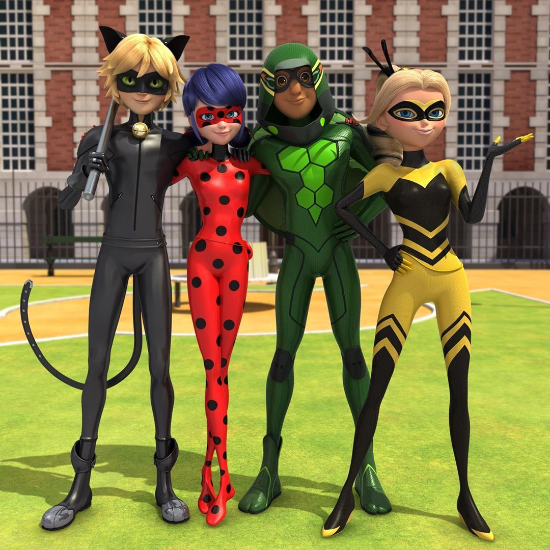 "Photo of Miraculous 🐞 Ladybug on Instagram: ""Teamwork makes the dream work. #miraculousladybug"""