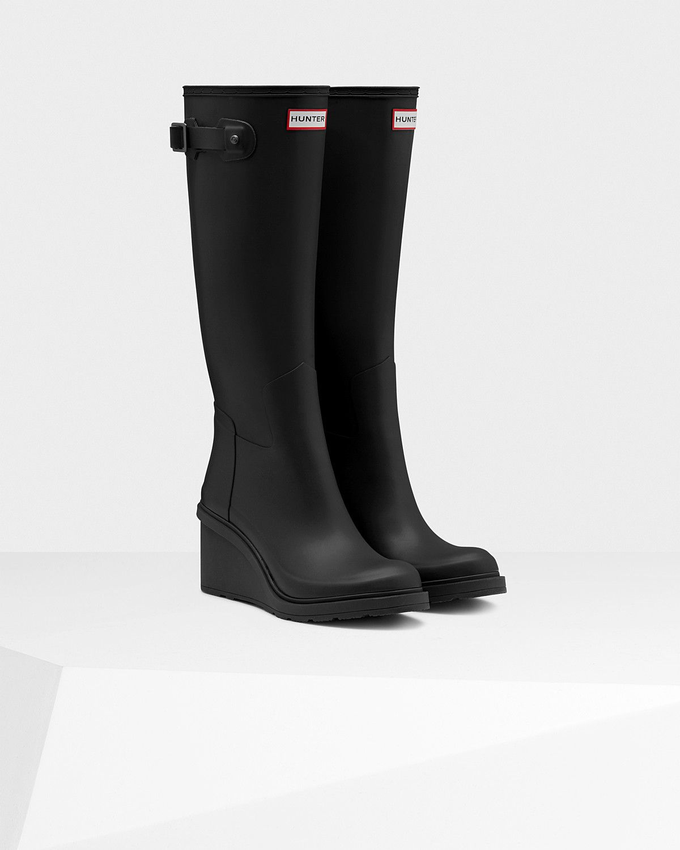 Shop Rainboots. Cheap Hunter BootsBlack ...