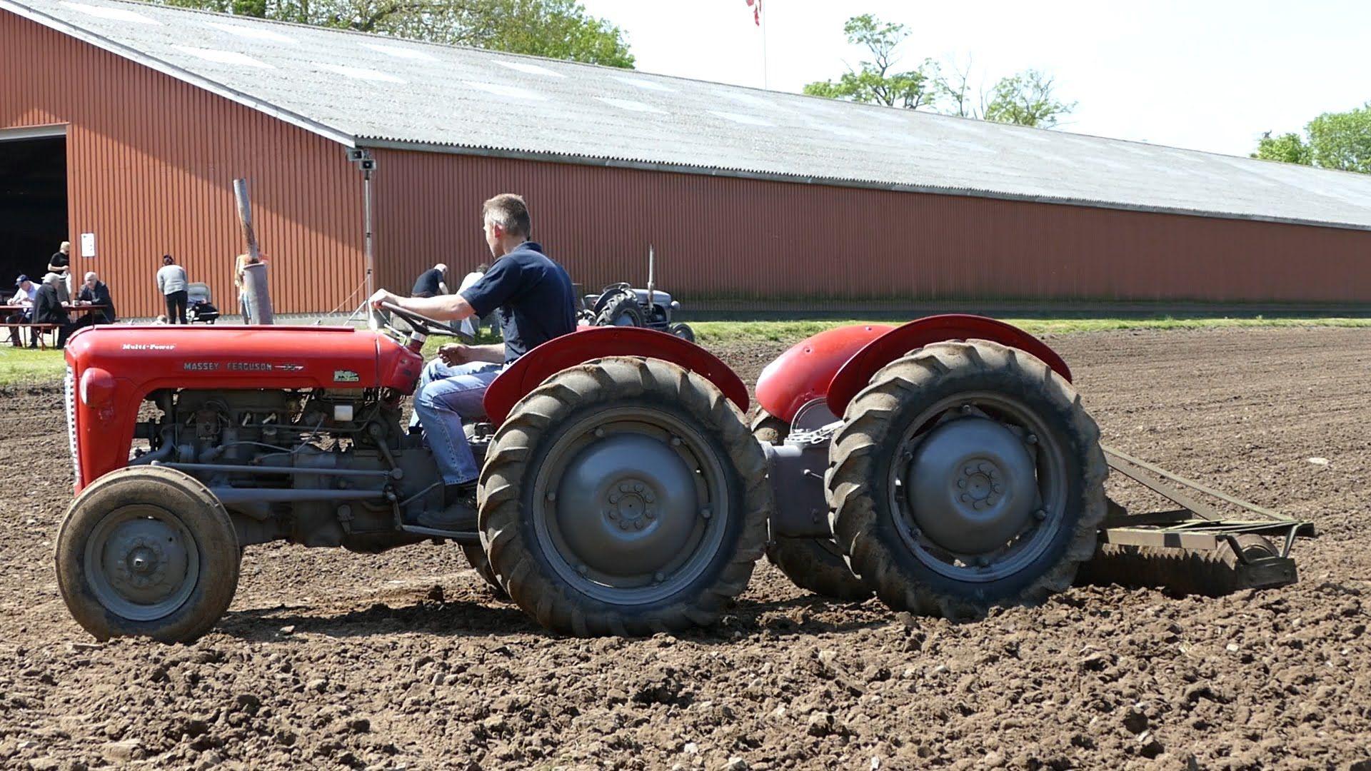 Massey Ferguson 100 Nf Garoden Tractor