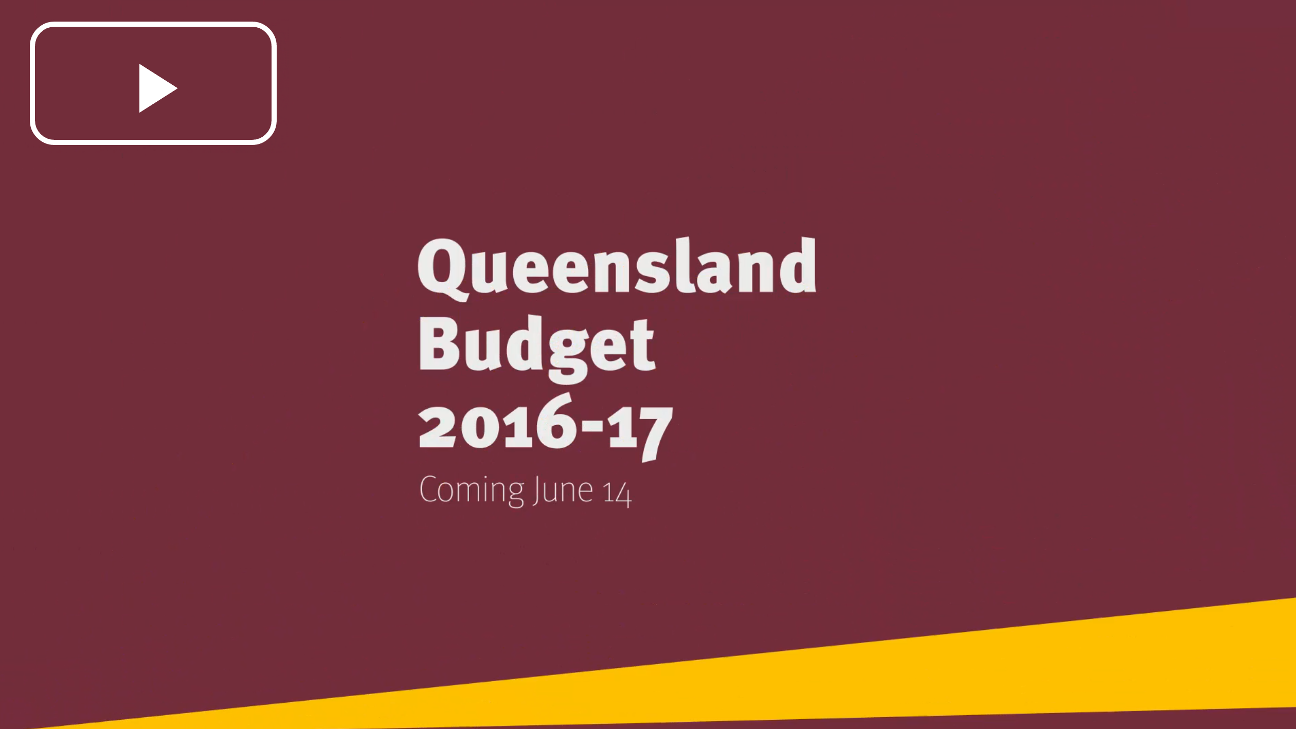 Queensland Budget 201617 (With images) Budgeting