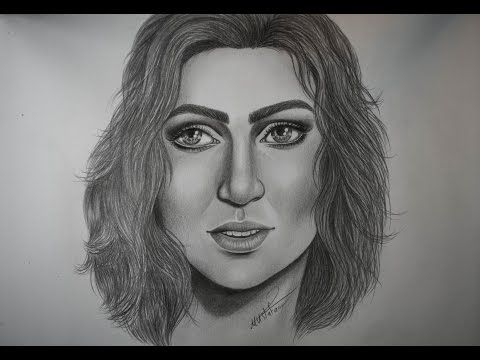 How To Draw By Mustafa Saadi Female Sketch Photo And Video Instagram Photo