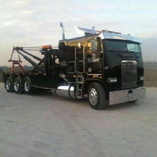 Tri Axle Cabover : Truckingworldwide coe freightliner custom tri axle