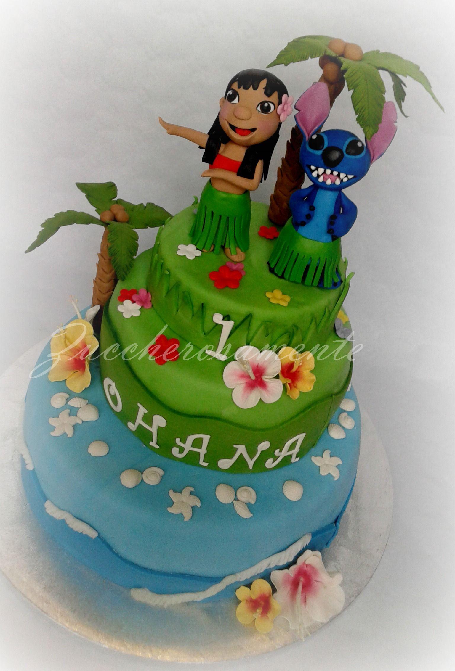 Lilo e Stitch cake