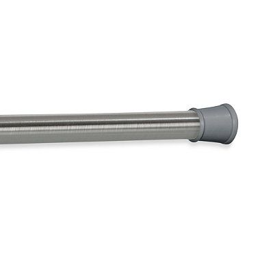 The Gripper Easy Install Stall Shower Rod In Stainless Steel