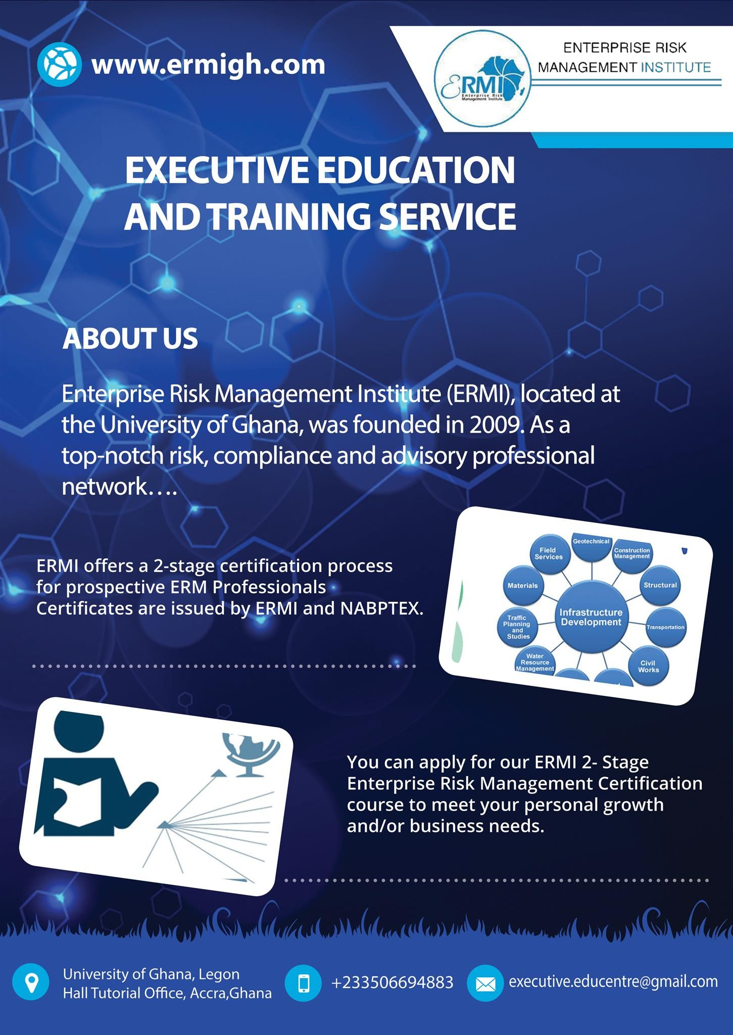 Executive Education And Training Service Accra Executive Education Education And Training Risk Management