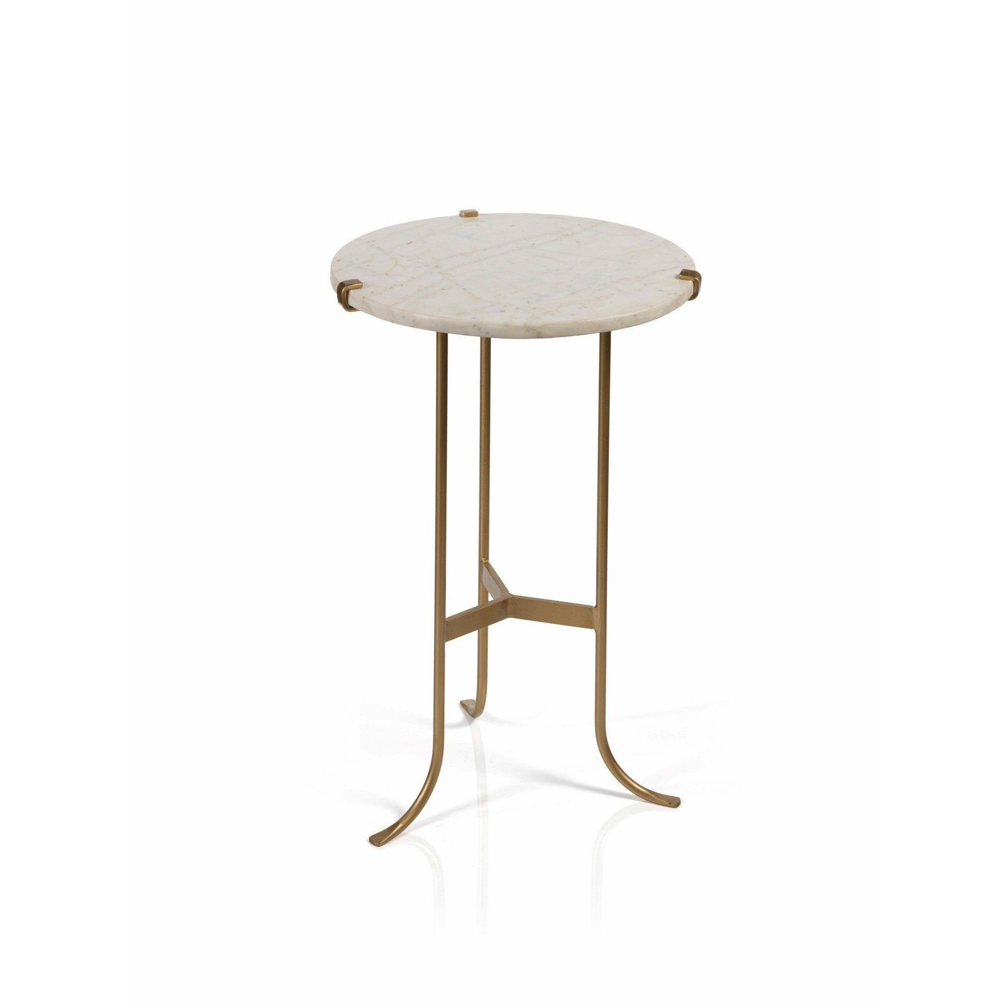Zodax 24 Inch High Rimini Side Table Furniture