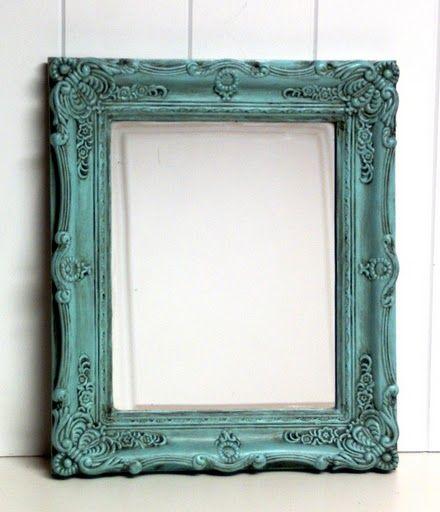 teal tarnished | Frames | Pinterest | Room, Frames ideas and Chalk paint