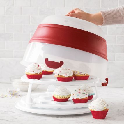 Cupcake Carrier Target Collapsible Cupcake & Cake Carrier  Cake Carrier Patent Pending